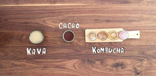 Kava, Cacao and Kombucha