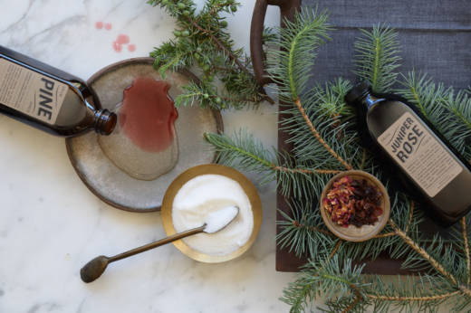 Colorado-based Dram Apothecary makes an evergreen syrup from local trees which can be used for both alcoholic and non-alcoholic beverages.