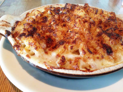 The Gilroy Garlic Mac at Temescal's Homeroom.