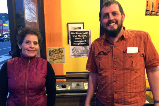 Owners of Ba-Bite Mica Talmor and Robert Gott feel strongly that their restaurant should be a safe place for all.