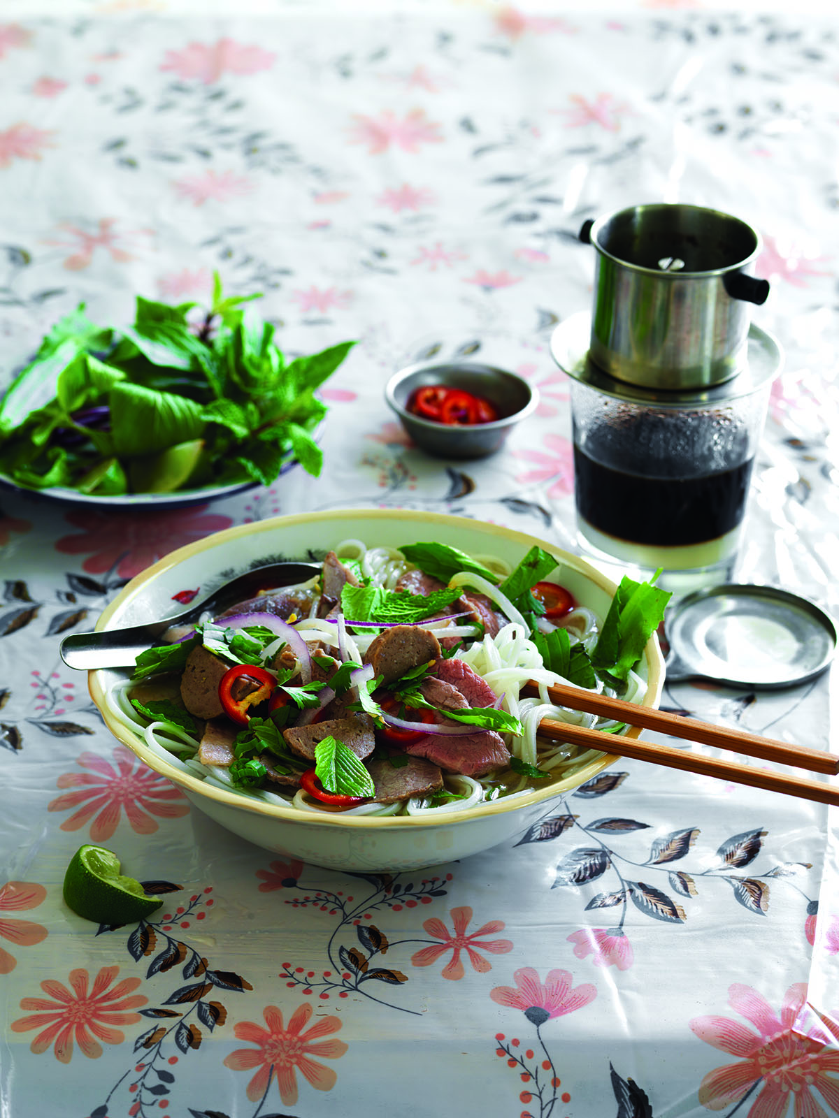 The Pho Cookbook. Saigon-style beef pho.