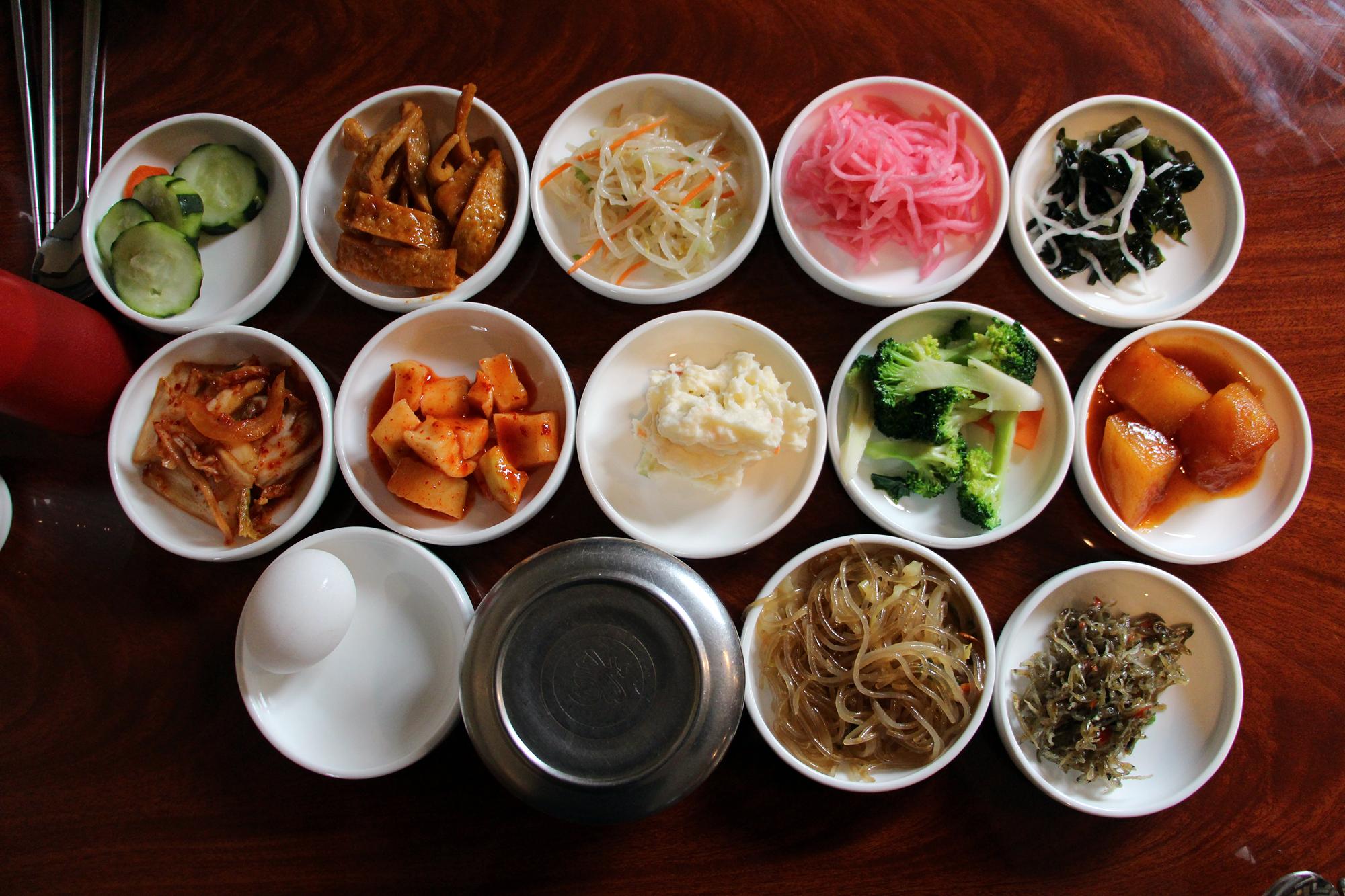 Daol Tofu banchan