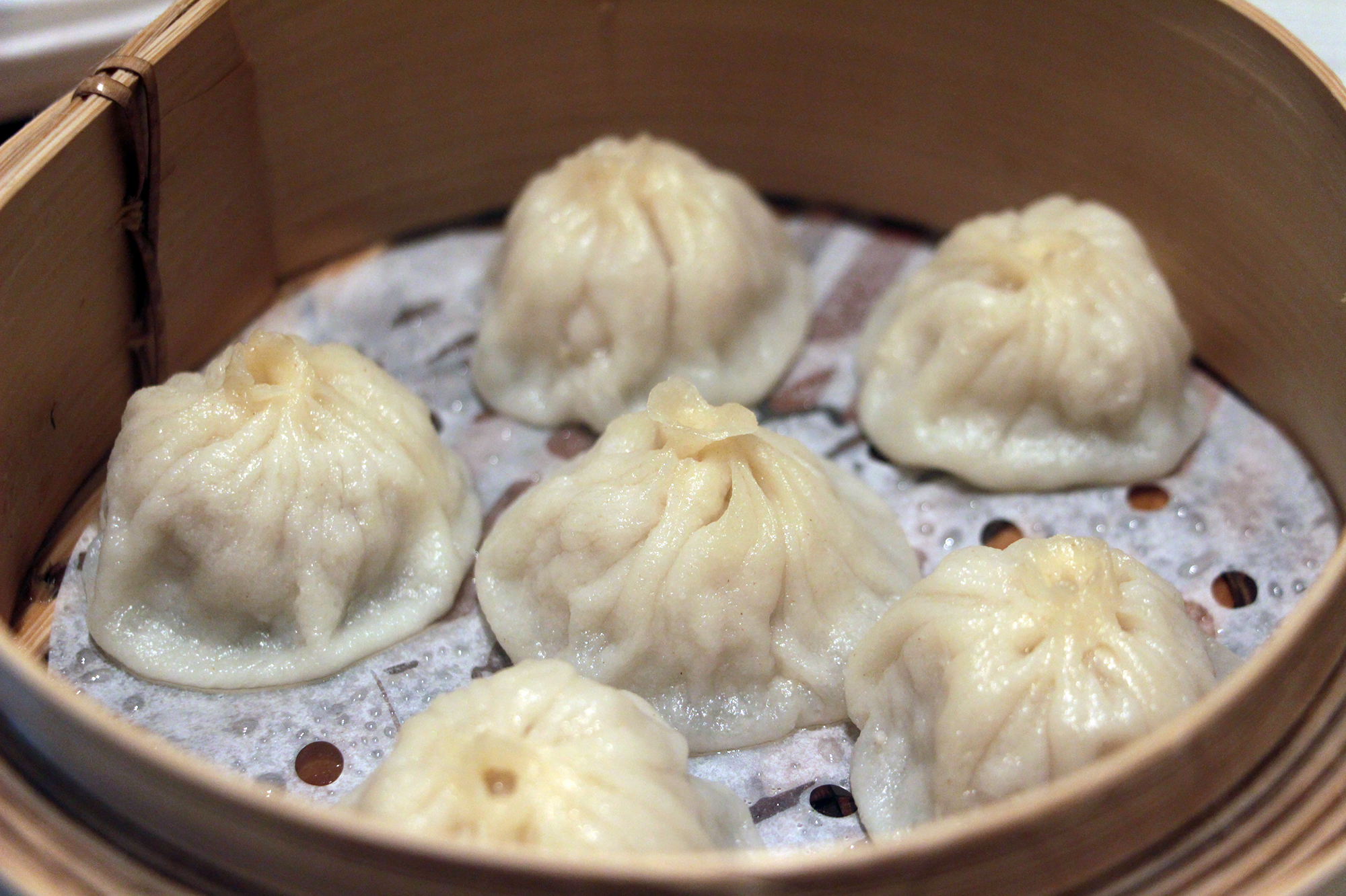 Xiao Long Bao 'XLB' filled with Rich Consumme at China Live