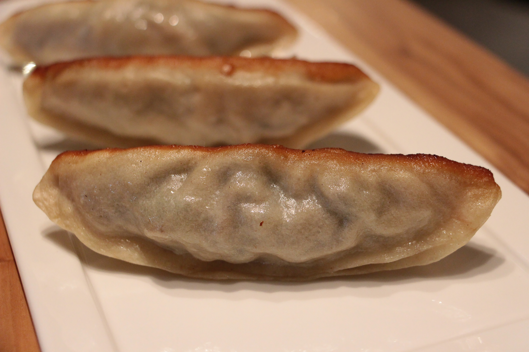 Dongbei Vegetarian Long Potstickers.
