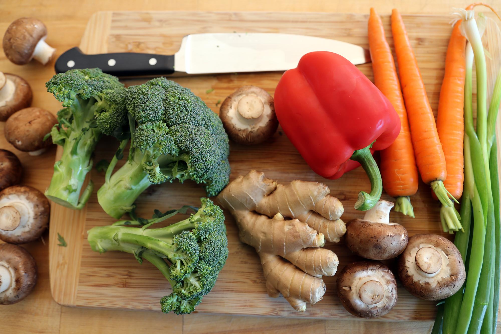 Basic Stir-Fry Ingredients