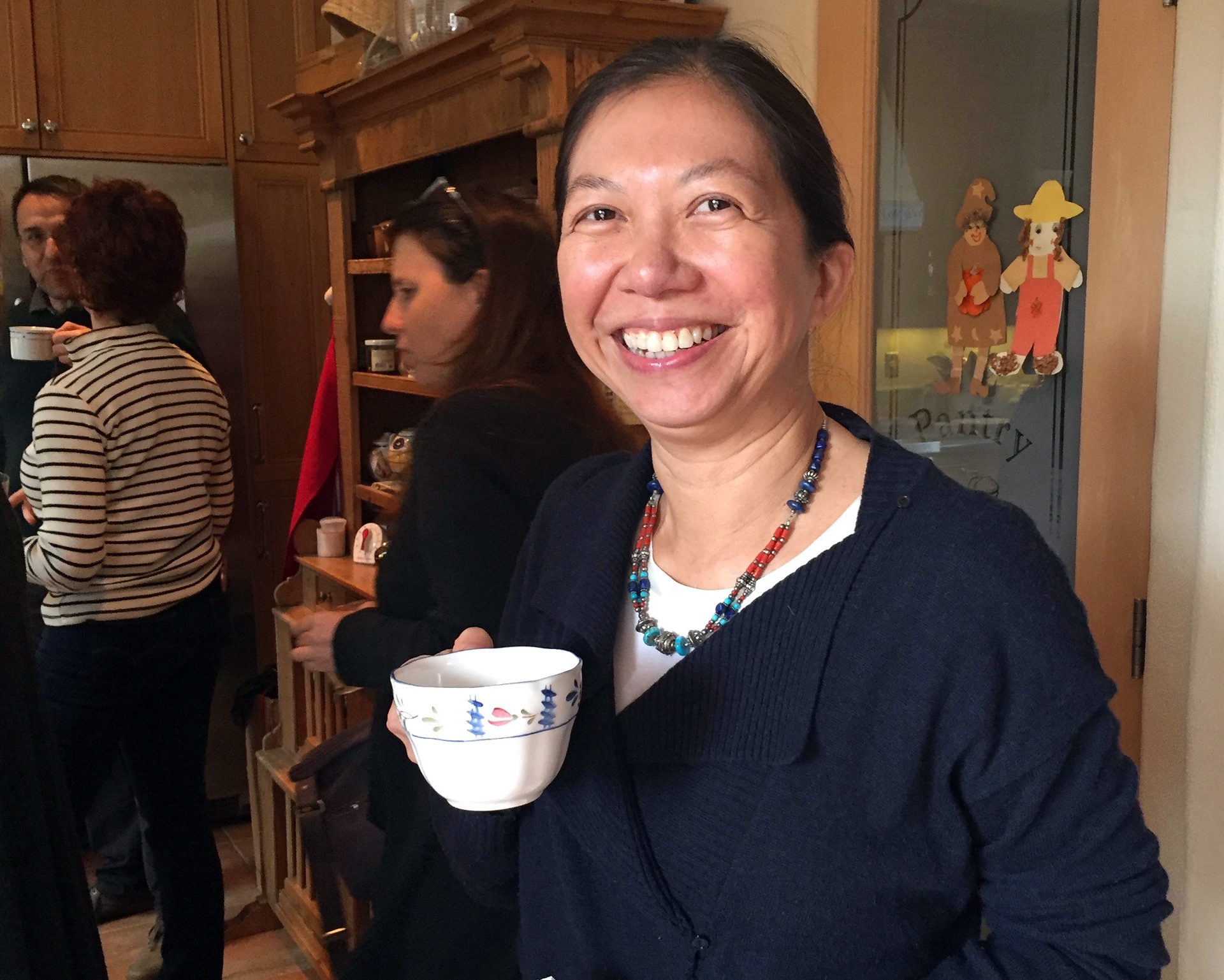 April Chou will be the host of the next Tapestry Supper and cook food from her native Burma.