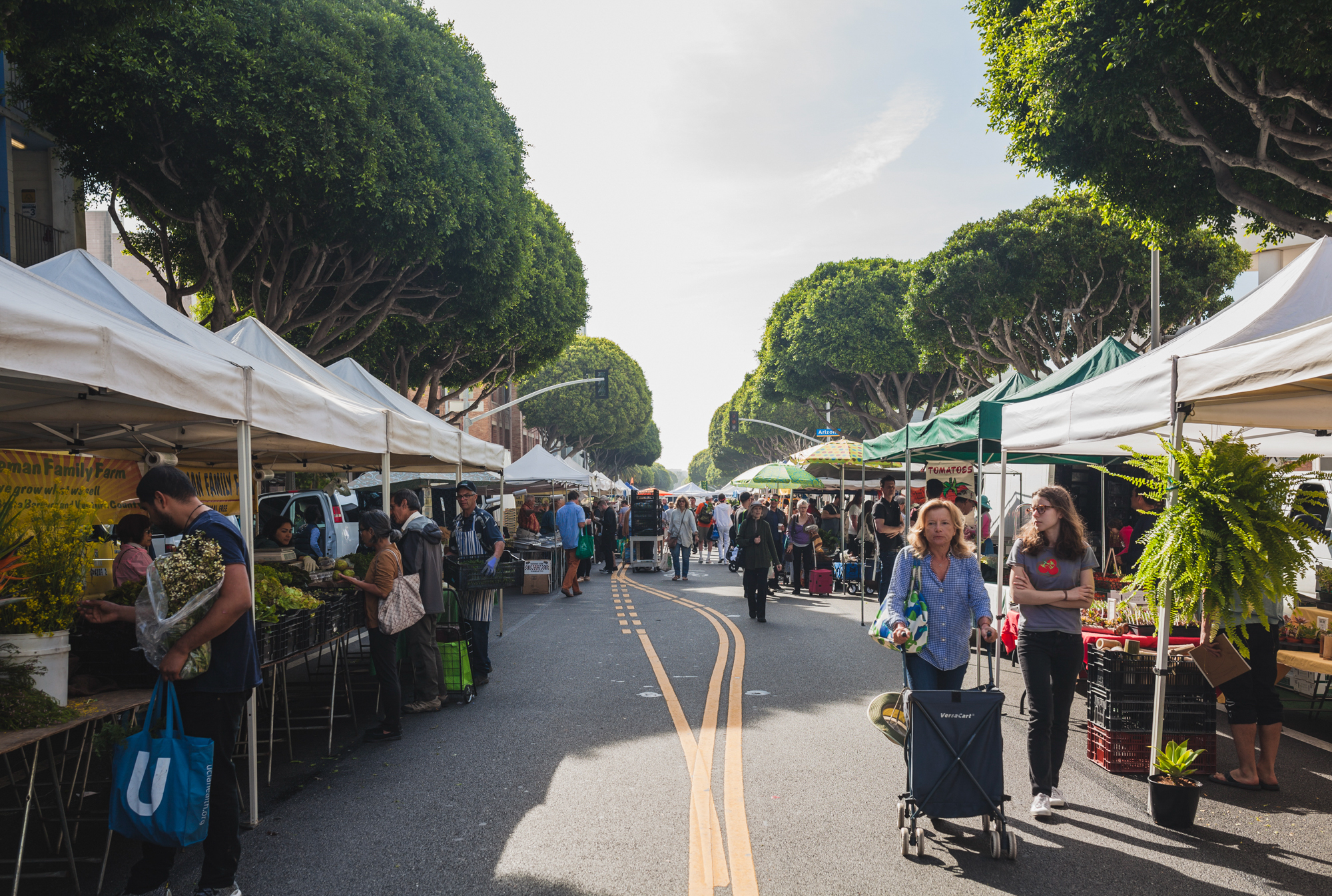 Chefs and home cooks alike flock to the Wednesday Santa Monica Farmers Market. This is where Jeremy Fox finds ingredients like salsify flowers and parts of vegetables often overlooked or discarded by other cooks.