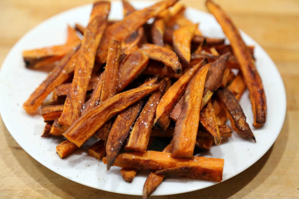 Recipe: Baked Sweet Potato Fries