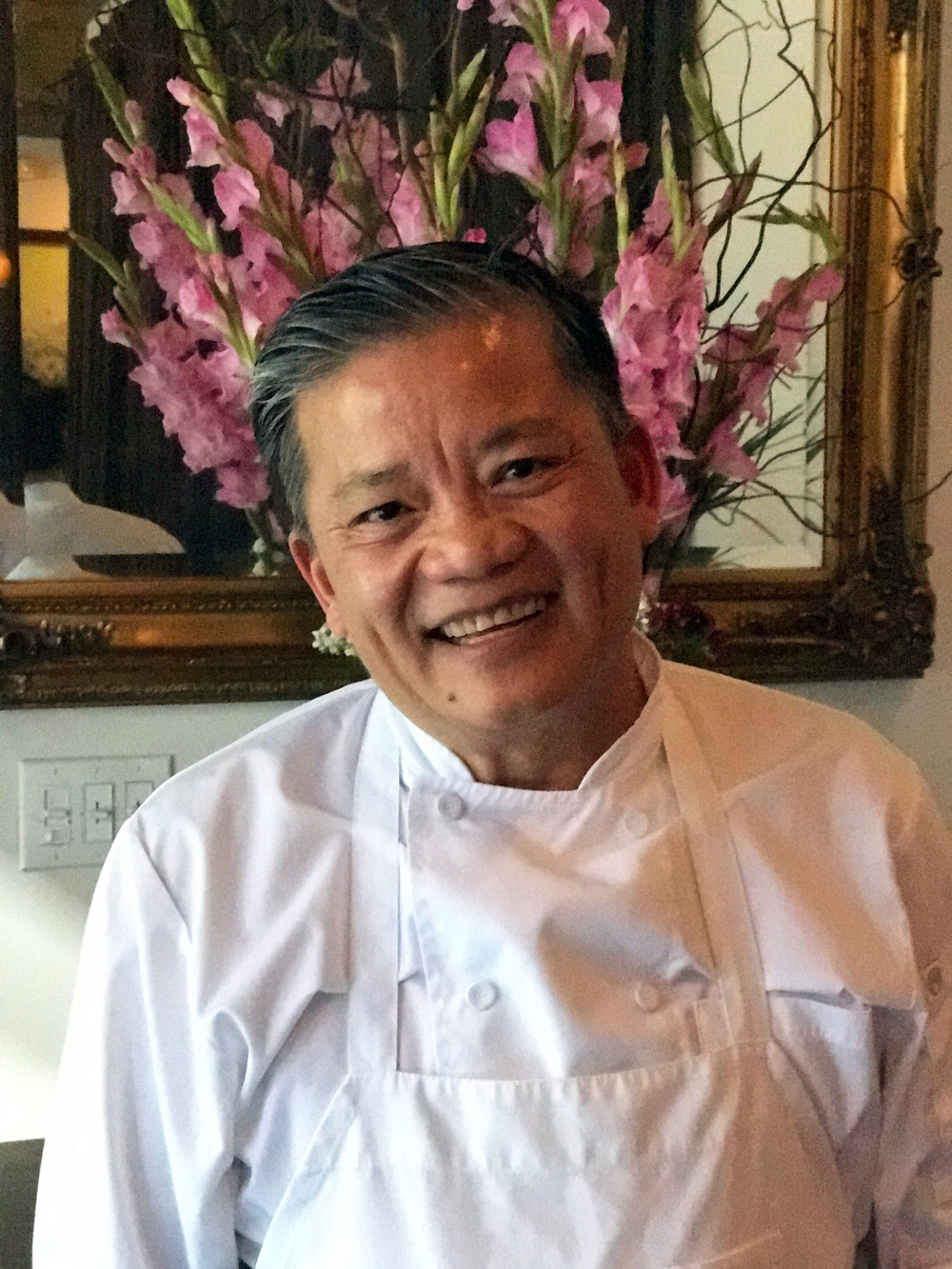 Chef Khai Duong in his new namesake restaurant in SoMa.