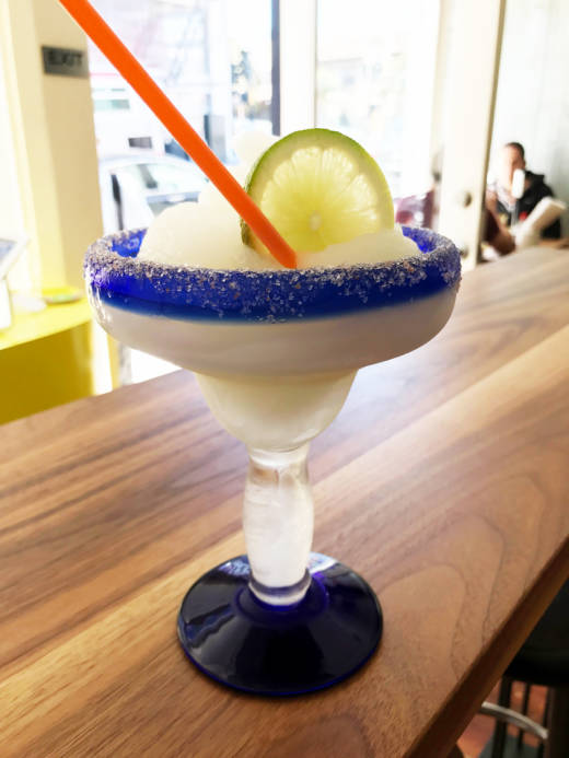 Bar manager Lachlan Bray's new and improved blended margarita.