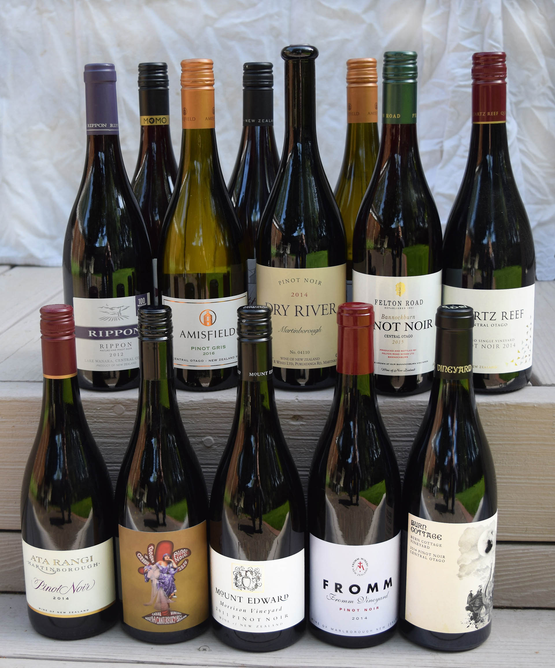 Although a small percentage of New Zealand wines makes it to the Bay Area, merchants here carry many of the country's top wines.
