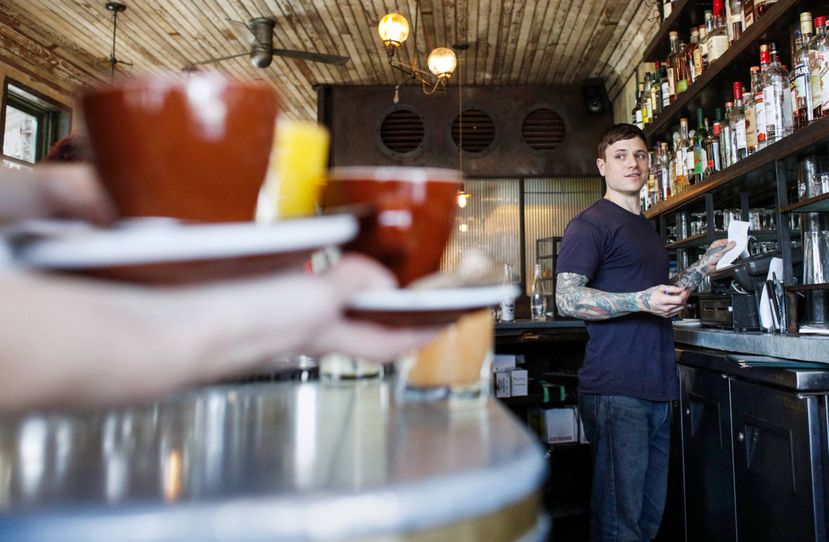 New Businesses Give Restaurant Workers The Tips They Ache For: Wellness