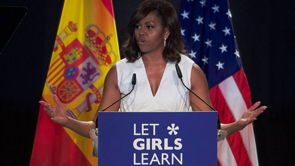 Trump Administration Rolls Back 2 Of Michelle Obama's Signature Initiatives