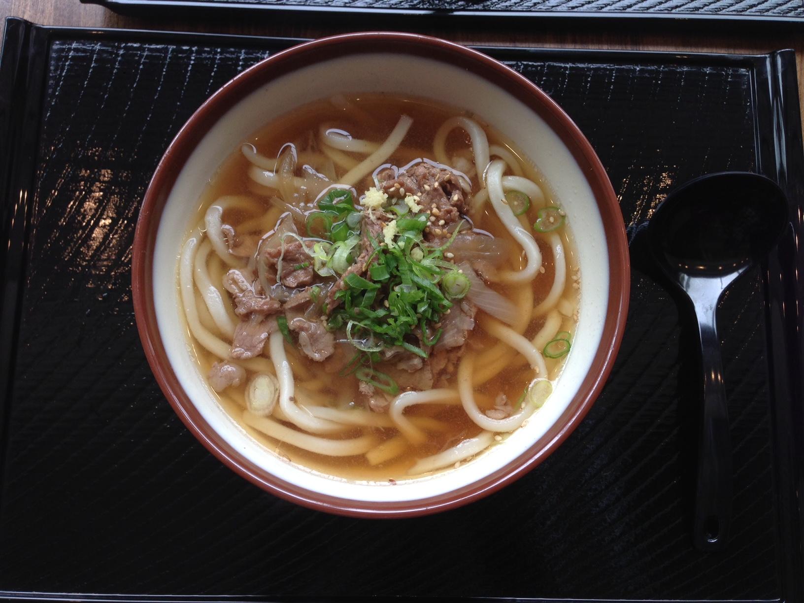 Niku (beef) Udon Soup