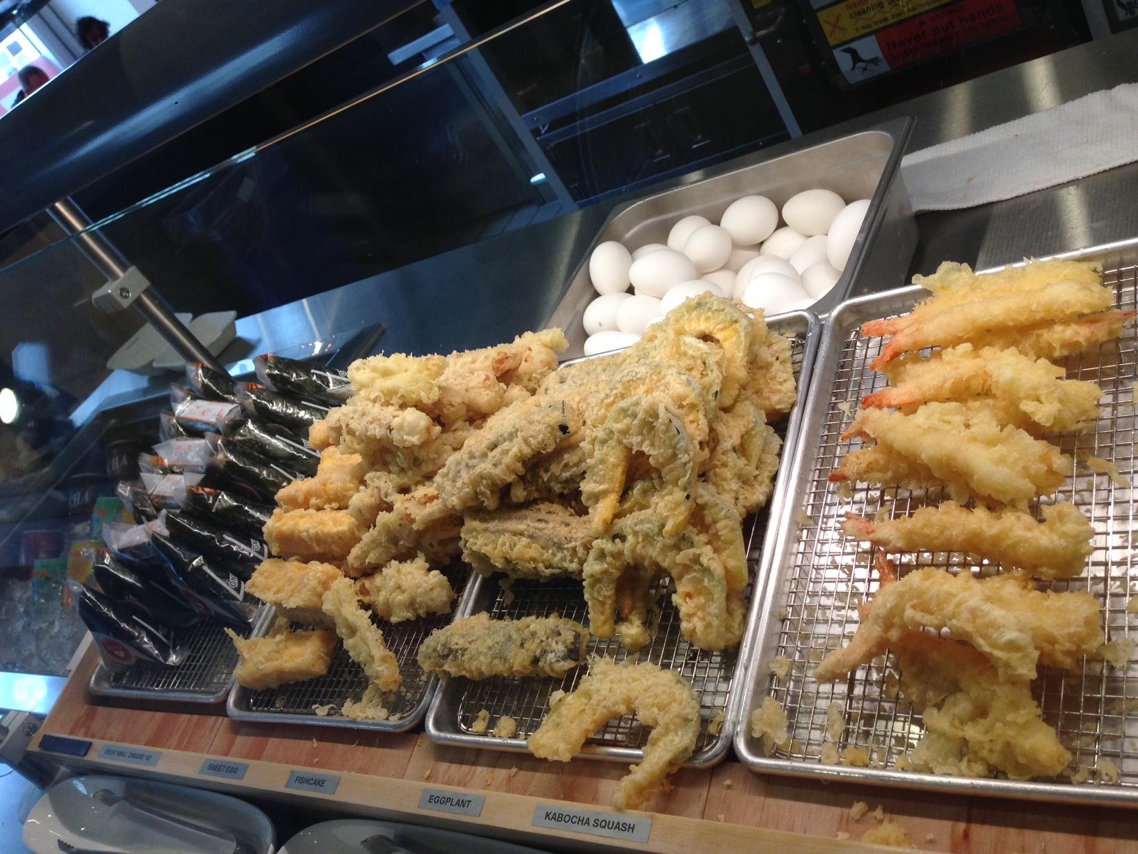 Kagawa-Ya's tempura.