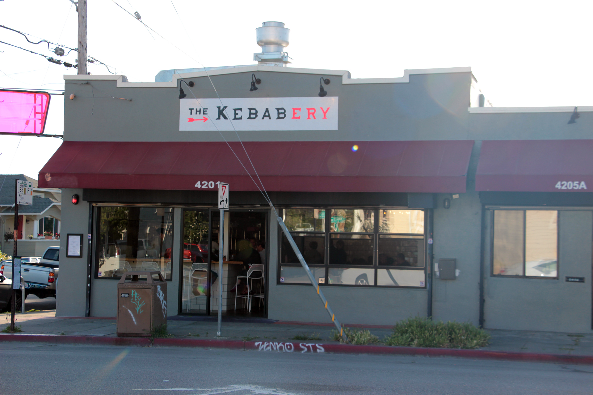 The Kebabery exterior.