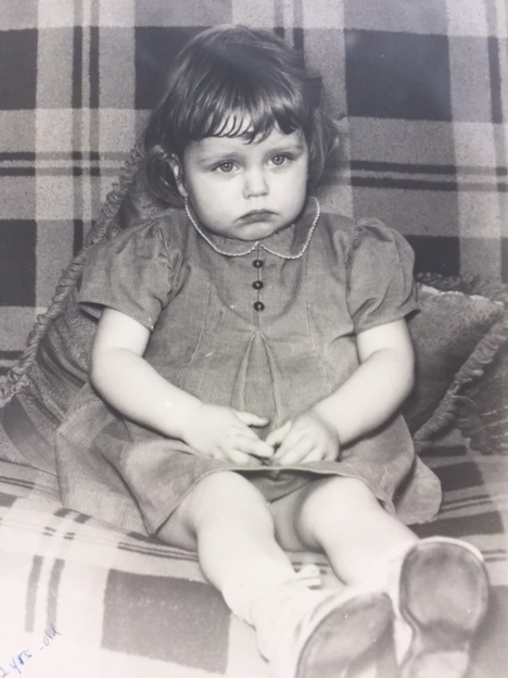 A childhood photo of Lindy Redmond, who was told she had two weeks to live before being diagnosed with celiac disease. Doctors treated her with a diet that eliminated starches but included daily bananas, dairy, meat and vegetables. She thought she was cured. Decades later, she found out she wasn't.