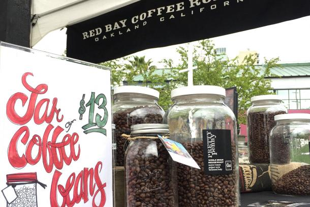Red Bay Coffee is now available at Jack London Square Farmers Market on Sundays.
