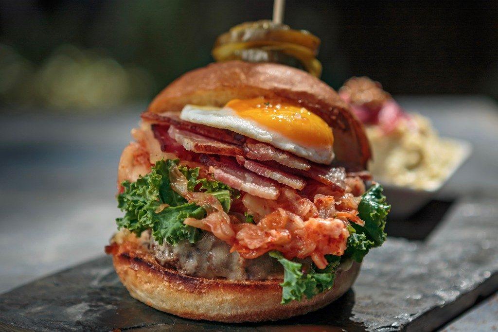 Tim's Burger, Backyard Restaurant, Forestville