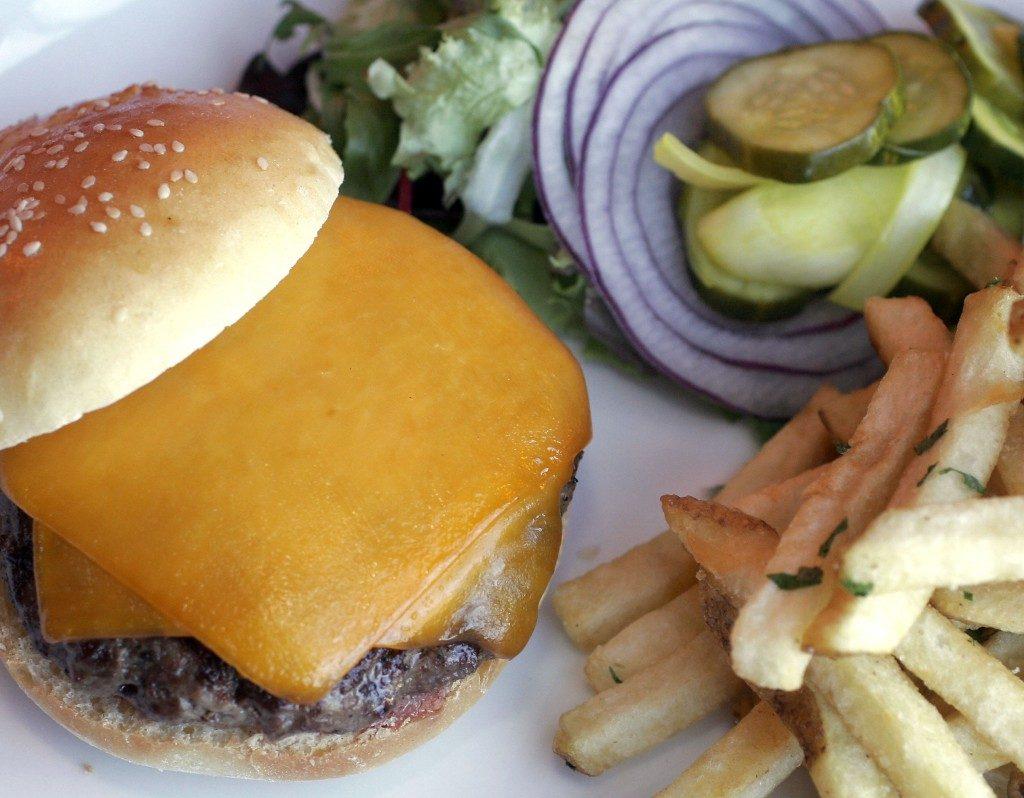 The Burger, Jackson's Bar and Oven, Santa Rosa, $14