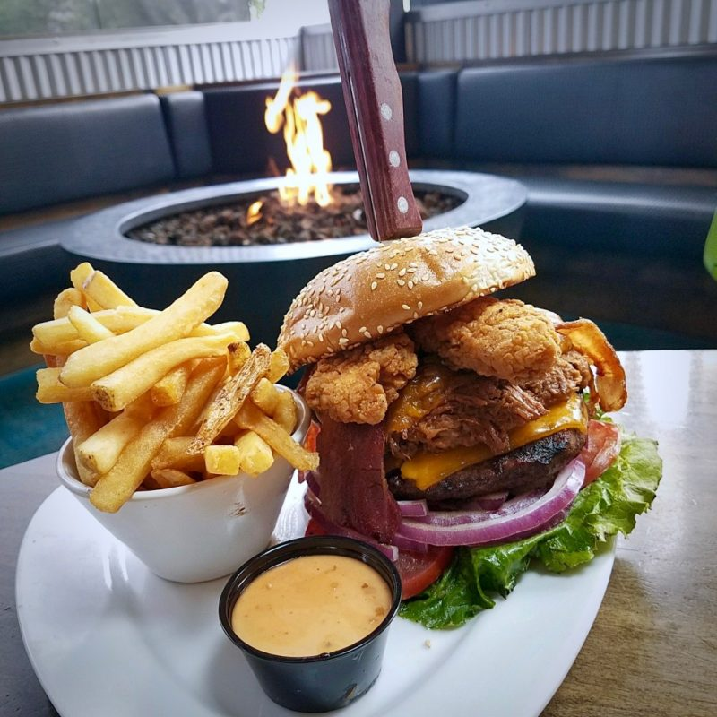 I Love Animals Burger, KC's American Kitchen