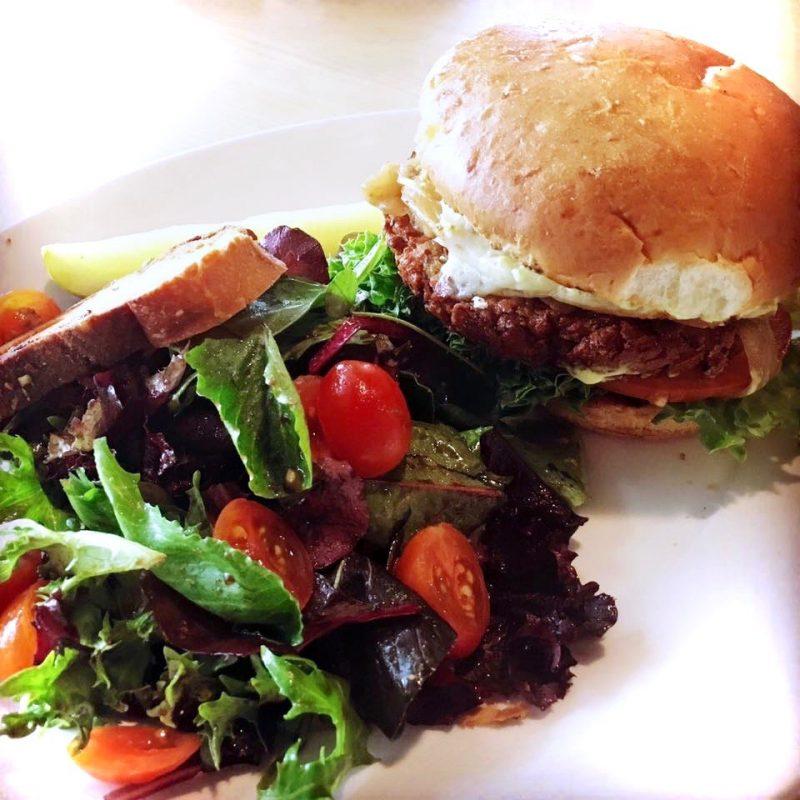 Quinoa Burger, Red Grape, Sonoma