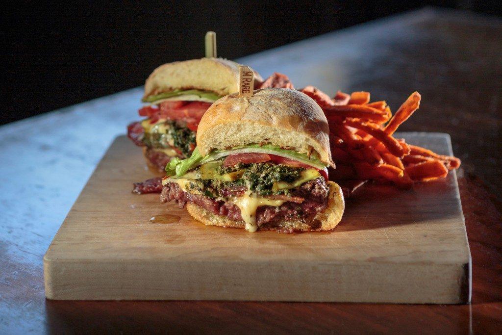 Not So Mini Burger, Stark's, Santa Rosa