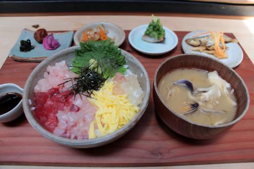 Sashimi No Tataki Mori Don
