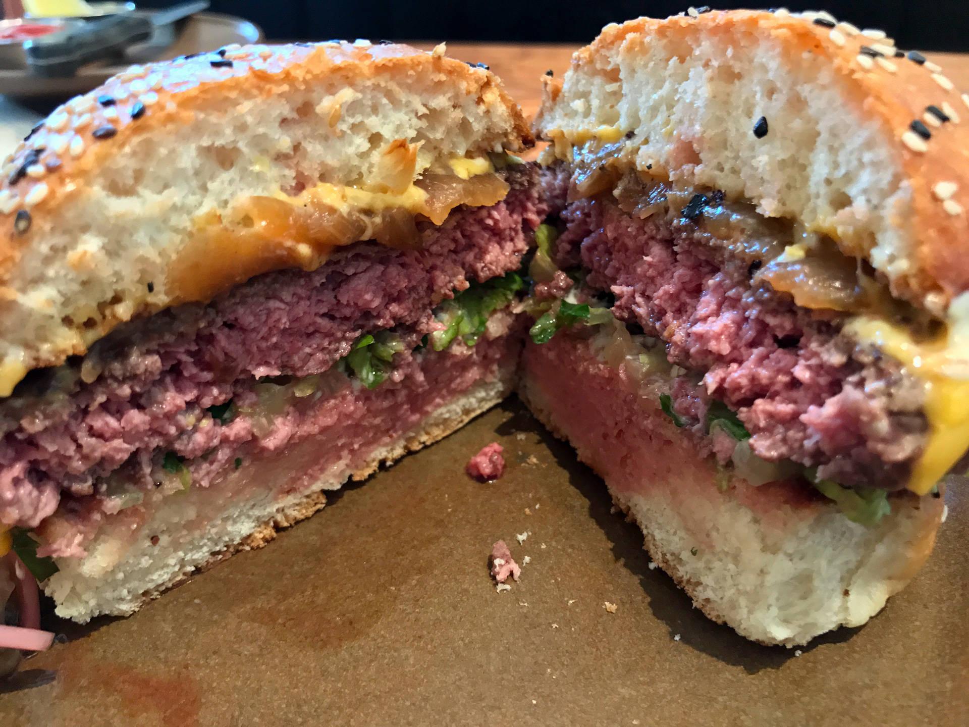 The Wagyu burger at Duchess in Oakland. Kim Westerman