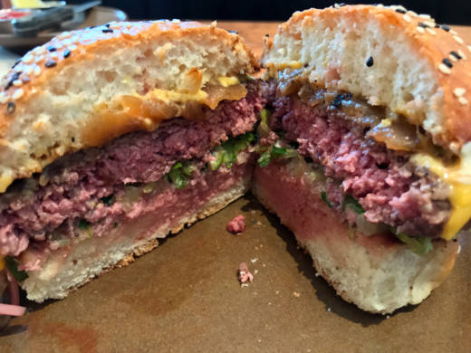 The Wagyu burger at Duchess in Oakland.