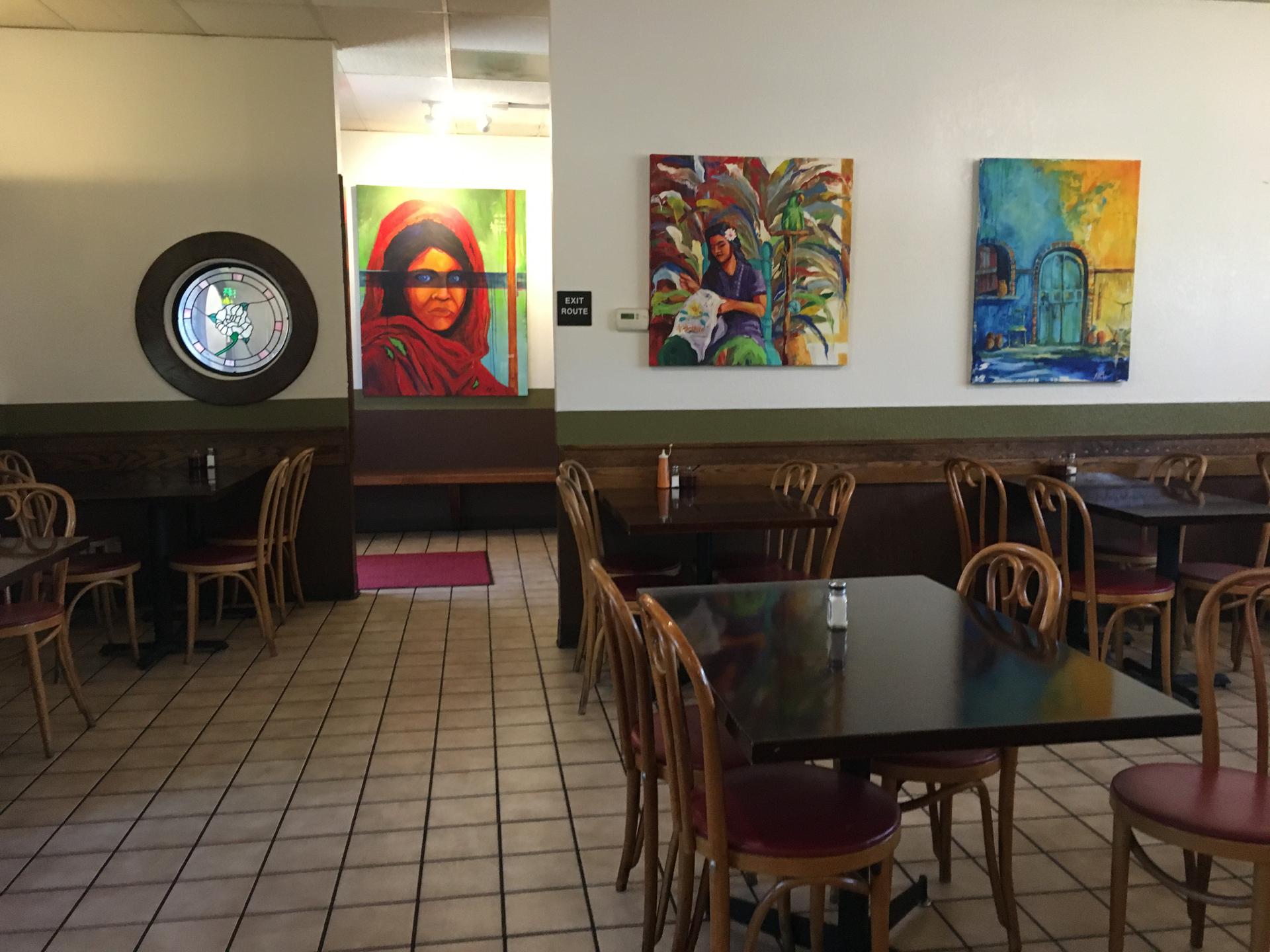 Inside Speedy's Tacos in Sunnyvale.