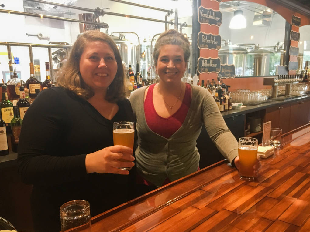Sisters Catherine (left) and Margaret Portner have re-established Portner's Brewery, which was opened in Alexandria, Va., in 1869 by their great-great grandfather, then closed during Prohibition.