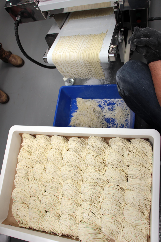 Ippudo's fresh-made noodles