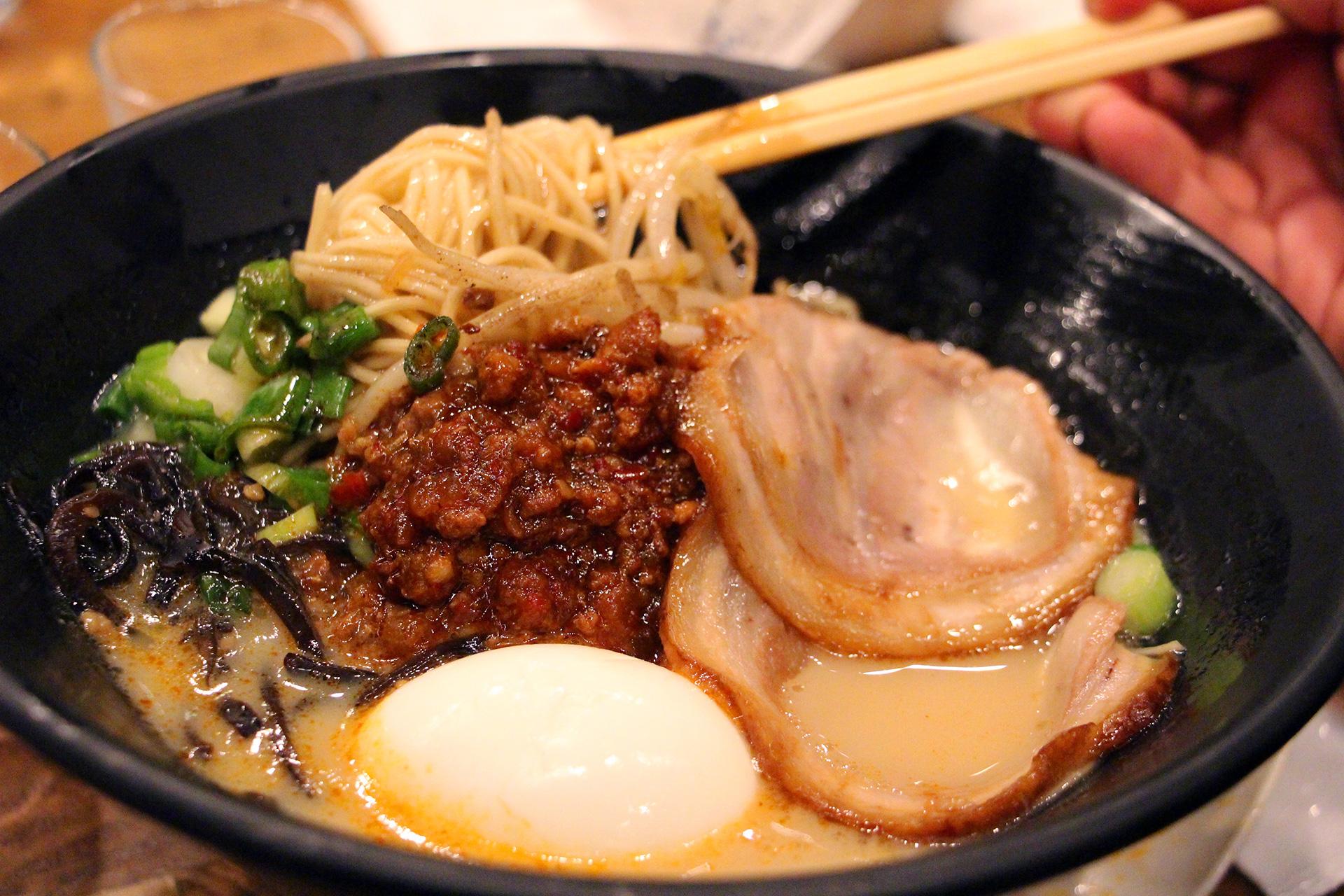 Karaka Spicy Ramen at Ippudo