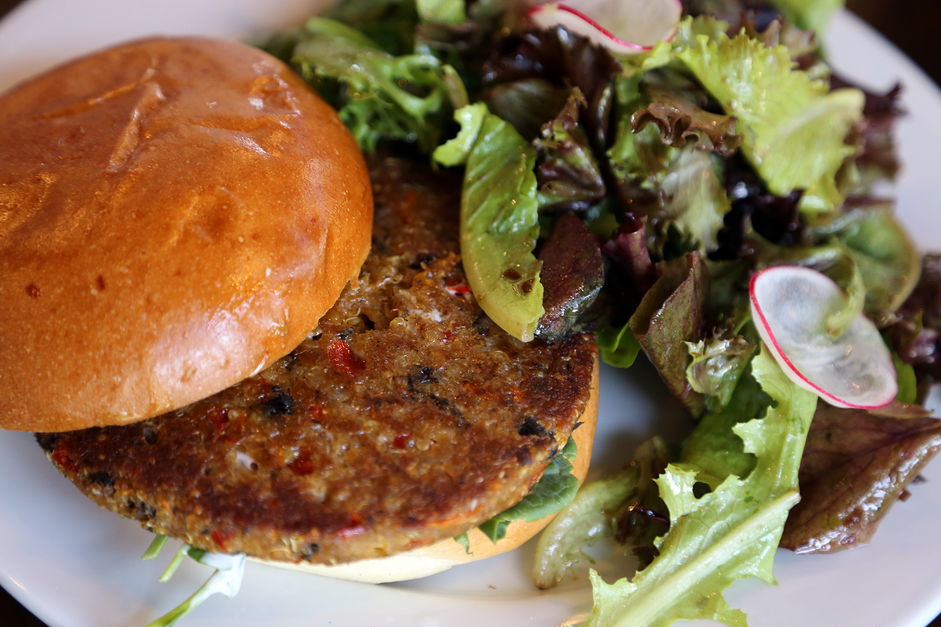 House-made Quinoa Burger