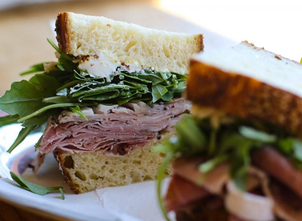 Jambon Royale Sandwich at Thistle Meats in Petaluma. Heather Irwin
