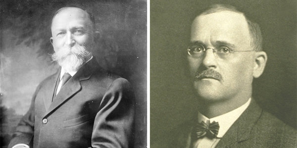While Dr. John Harvey Kellogg (left) was prescient about the concept of wellness. His brother, Will Keith Kellogg, right, was the marketing mastermind behind the Kellogg company's success.