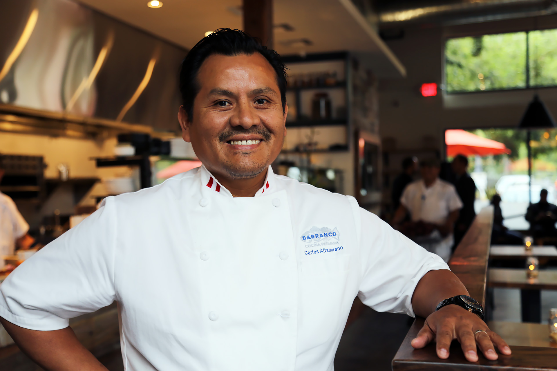 Barranco Chef/Owner Carlos Altamirano