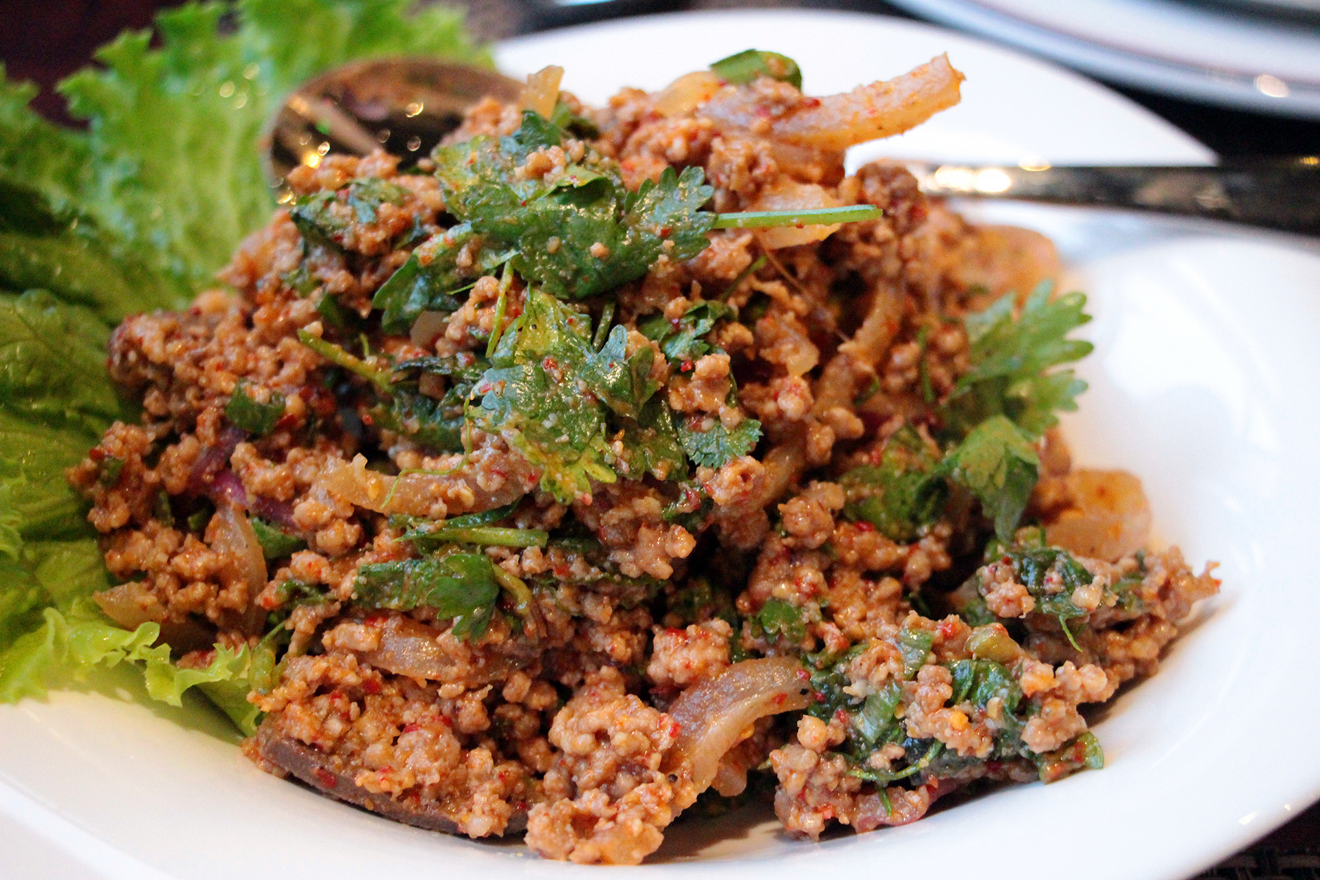 Ground Pork Salad - Larb Pork