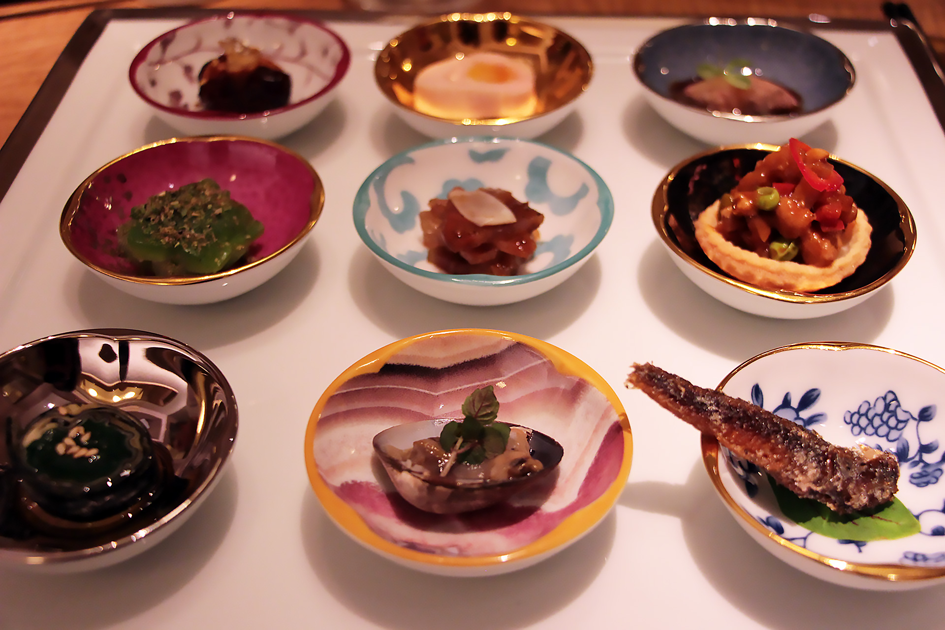 Jiu Gong Ge - Nine Essential Flavors