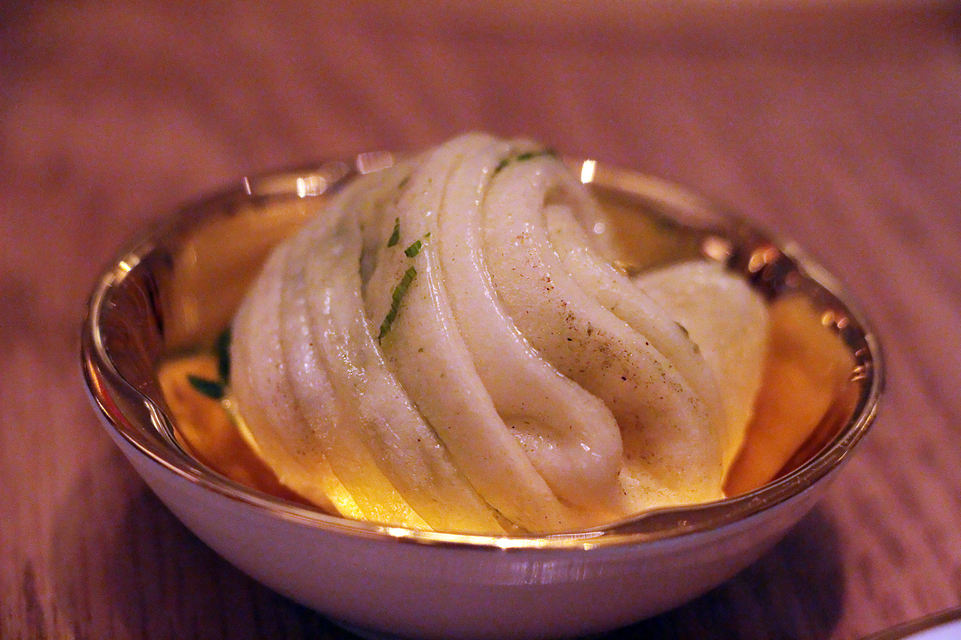 Handmade savory dumpling
