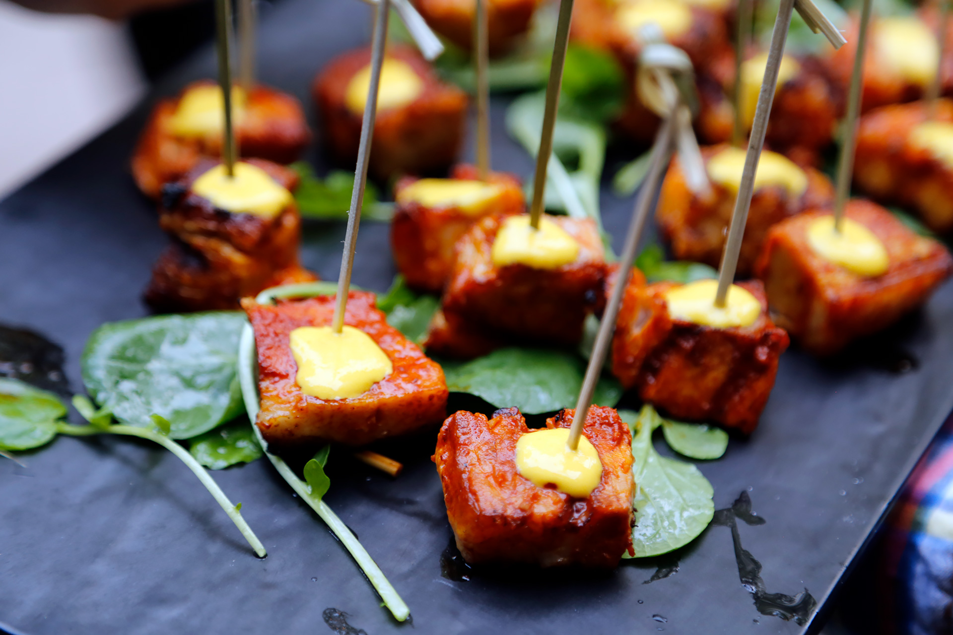 Anticuchos - pork belly