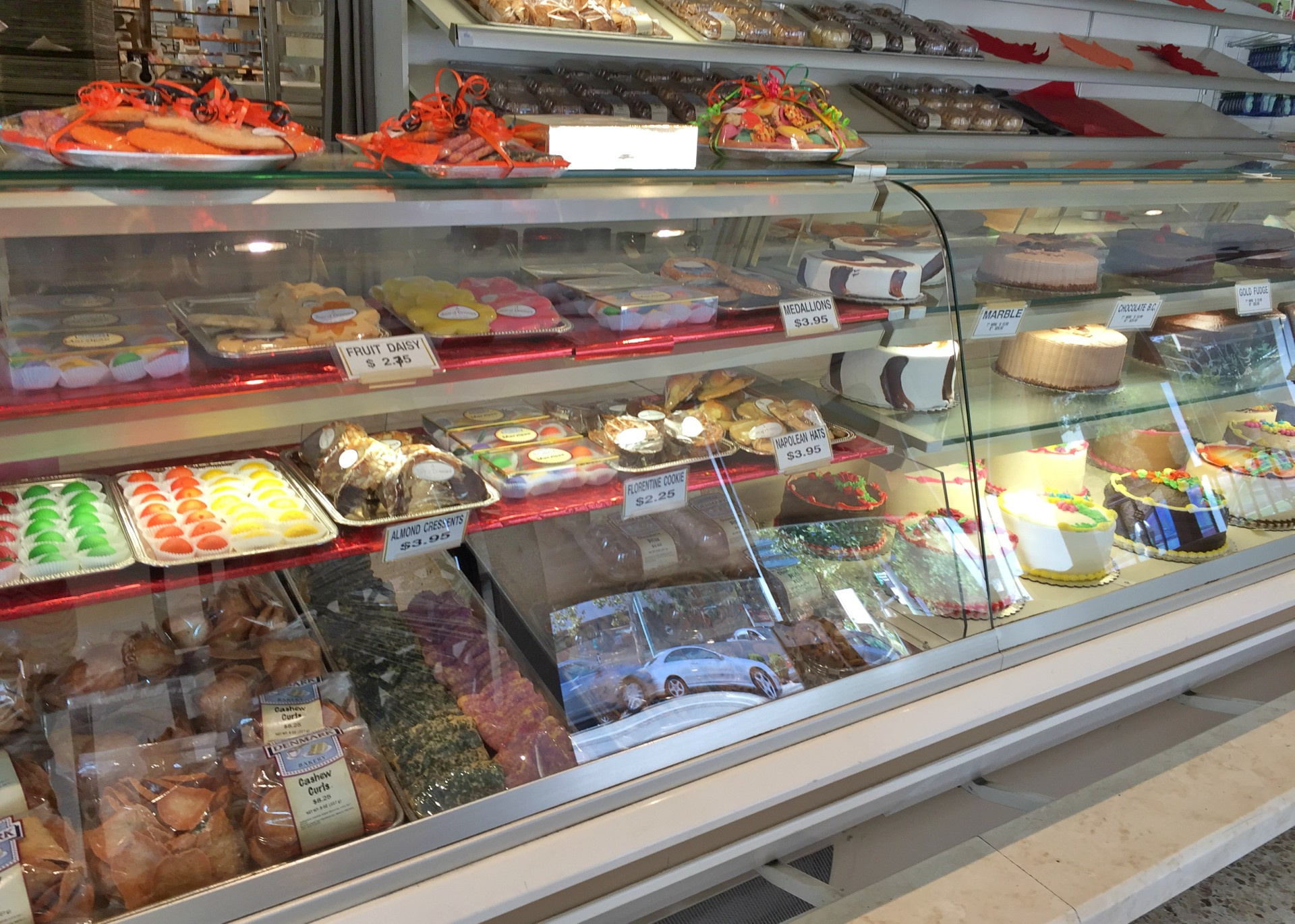 A Taste of Denmark offers a huge variety of pastries.