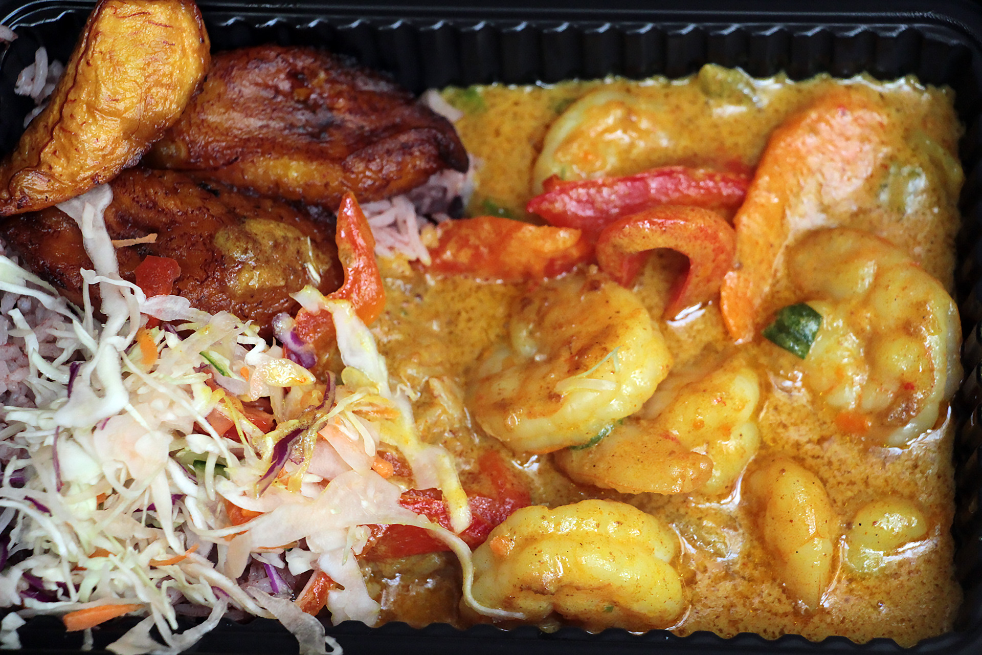Curry Shrimp at Scotch Bonnet.