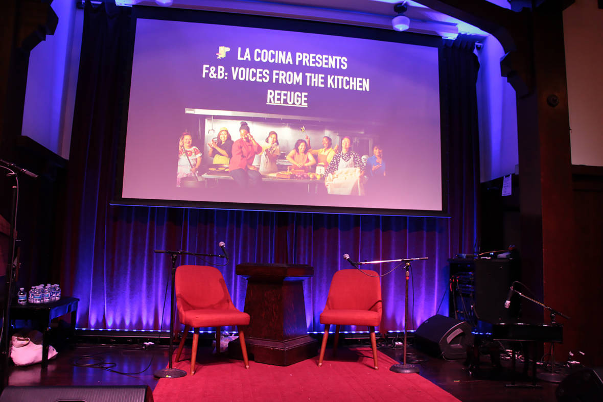 Stories of Soup, Sandwiches and Spuds Illuminate the Subject of Refuge at La Cocina's 'Voices from the Kitchen'