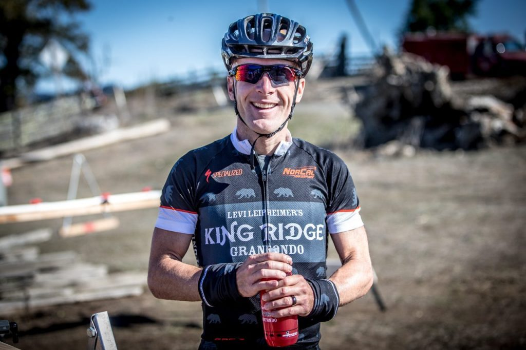 Professional cyclist Levi Leipheimer's King Ridge Foundation is part of the Sonoma Pride campaign.