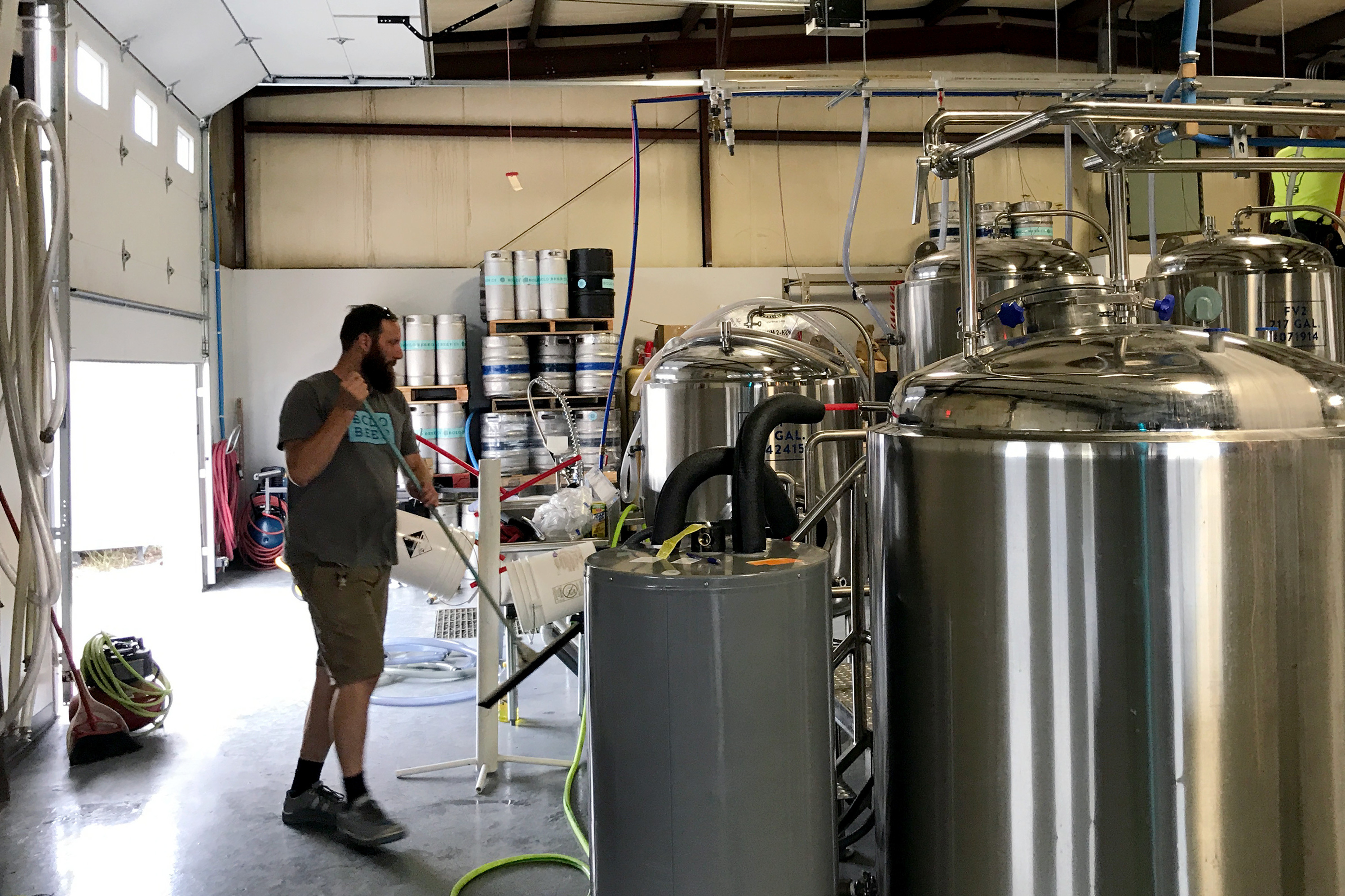 Bolo Beer Company head brewer Chris Hernstrom traded the Northwest for the relatively quiet Great Plains for a new challenge.