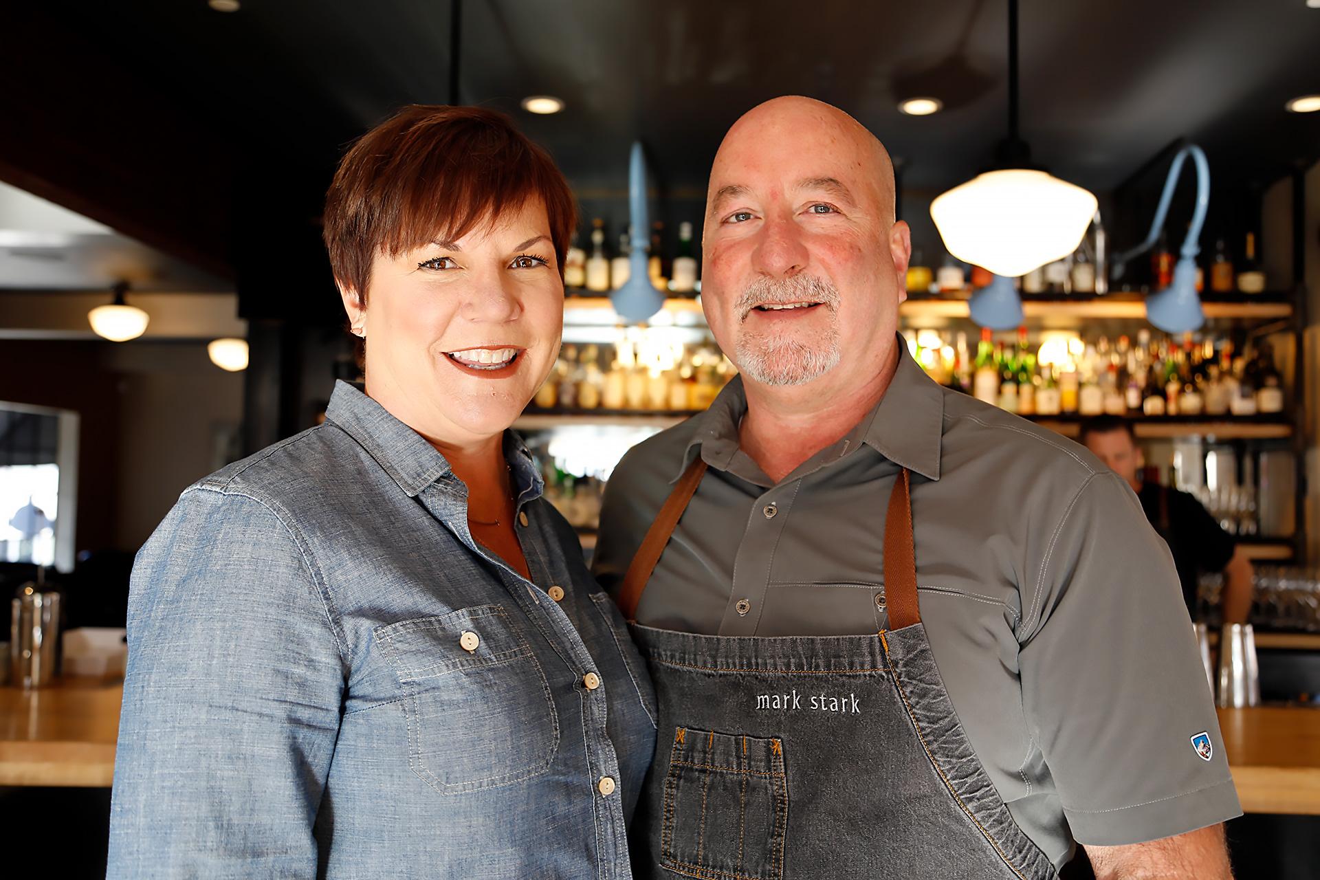 Terri and Mark Stark at Bird & The Bottle.