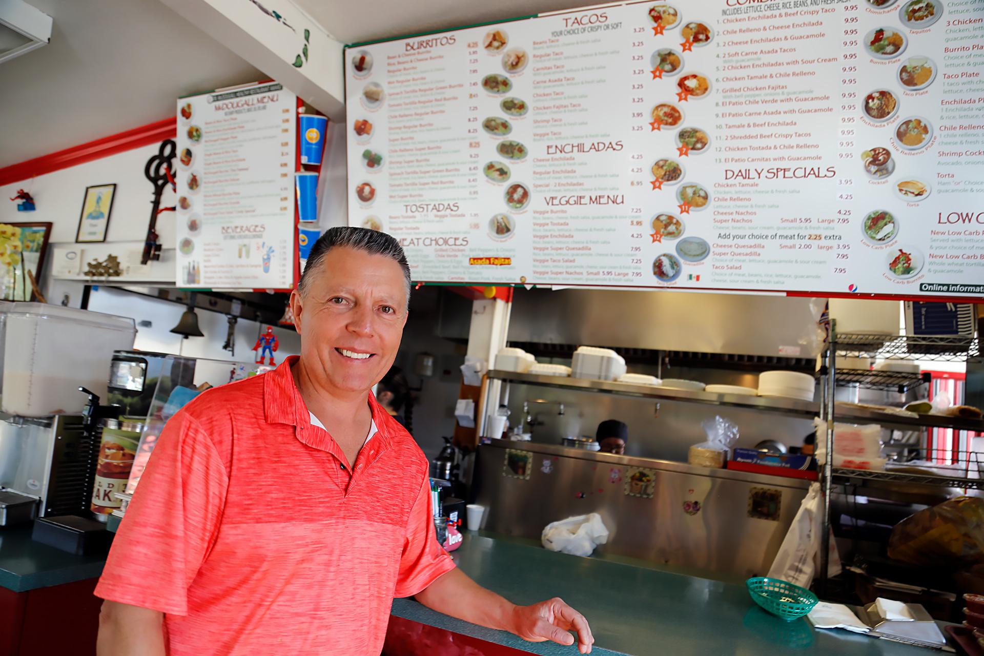 Sergio Ochoa, owner of El Patio in Santa Rosa.