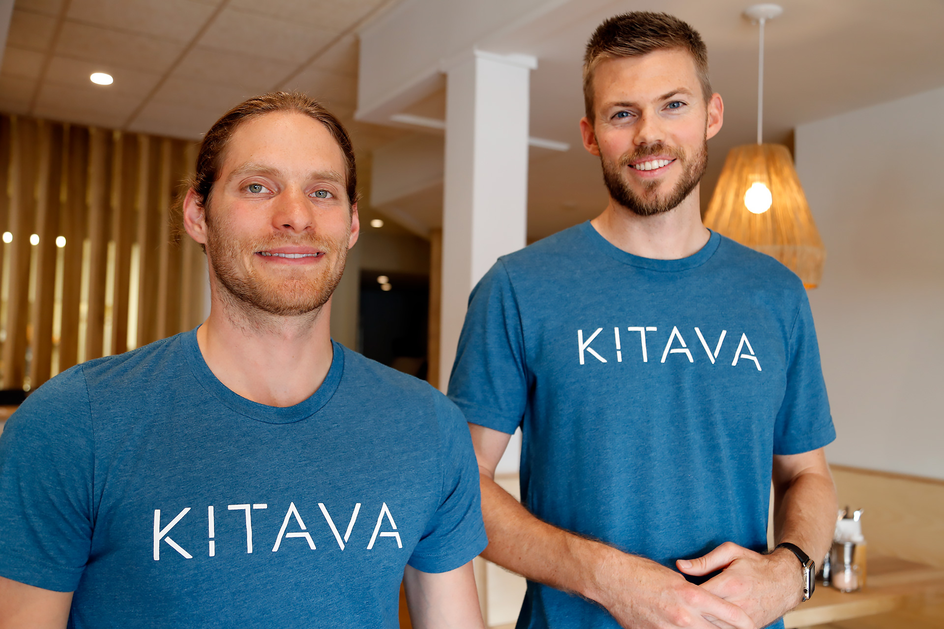 Bryan Tublin (L) and Jeff Nobbs (R), owners of Kitava Kitchen.